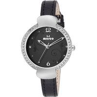 Marco Black Dial Black Strap Women'S Analog Watch - 124674155