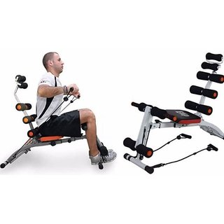 10 in 1 Six Pack Abs Exerciser Ab Bench Ab Slimmer