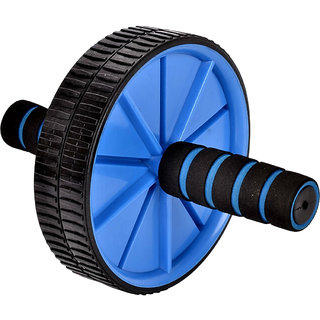 Gold Dust's AB Wheel Exerciser - Blue
