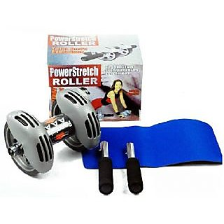 Ritzz Ab Wheel Power Stretch Roller Ab Roller Slider For Abdominal Exercises
