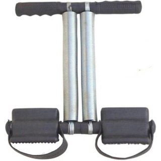 Tummy-Trimmer-Single-Spring Ab Exerciser