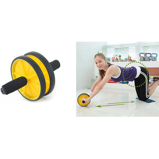 Exercise Wheel With Knee Cushion