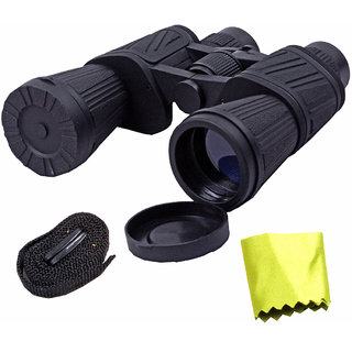 Waterproof Bushnell 50X Zoom 50x50 Prism Binocular Telescope Monocular with Pouch -53