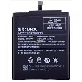1M Compatible BN-30 Non Removable Mobile Battery For Redmi 4A with 3120 mAh