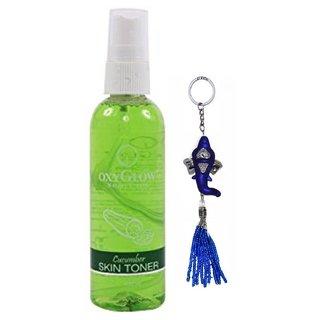 Oxyglow Cucumber Skin Toner 100ml + Free Stylos Ganesh Key Chain Worth Rs. 199