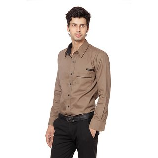 FB BIC Brown Shirt For Men