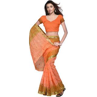 Designer Kota Doria Pure Cotton Saree Blouse -104