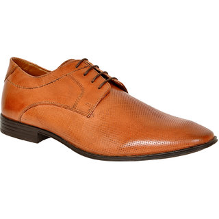 Allen Cooper ACFS-71444 Tan Men's Formal Leather Shoes