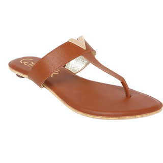 Catwalk Women Tan Loafers