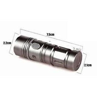 3 Mode CREE Rechargeable LED Waterproof Flashlight