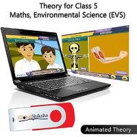 Globalshiksha CBSE 5 Maths & EVS (Online Course)