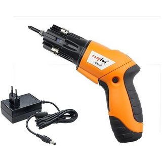 IBS Cordless Electric Auto Wireless SScrewdriver Battery Operated Power  Hand Tool Kit  (6 Tools)