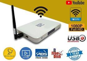 STC H-500  MPEG4 HD set top Box with WiFi (Lifetime Free) ( 2 USB Port + 1 HDMI Port )