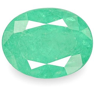 8.25 Ratti 100 Natural  Emerald Panna Stone By lab certified