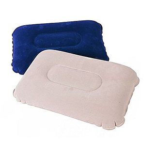 IBS Bestway Neww Delux Magic Air Pillow, 42Cm X 26Cm X 10Cm ( 1 Pis )