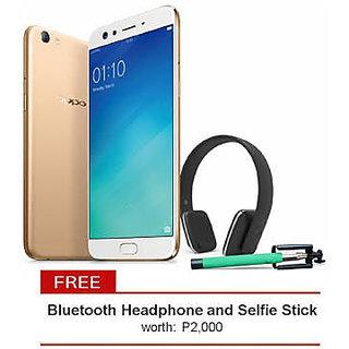 Oppo F3 Plus selfie expert + Bluetooth headset + selfie stick