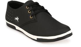 Franklien Men's Black Slip On Casual Shoes