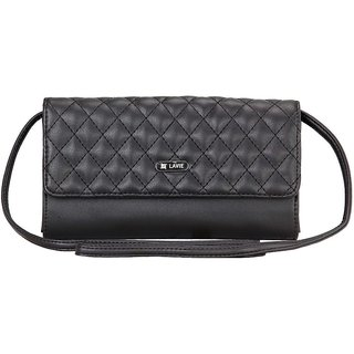 2a2c59af0 Buy Lavie Steen Black Sling Bags(Slbv757019B2) Online   ₹1760 from ...