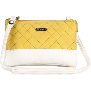 Lavie Dover Yellow Sling Bags(Slda917076B2)