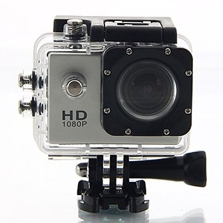 IBS BM400 Action Camera 12Mp 1080P H.264 1.5 Inch 140 Wide Angle LensS Waterproof Diving(Upto 30M) Sport CamcorderR