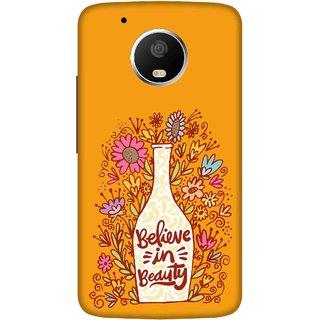 Print Opera Hard Plastic Designer Printed Phone Cover for   Moto G5 Plus Believe in beauty