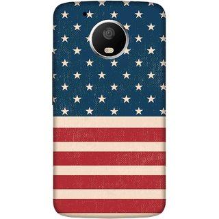 Print Opera Hard Plastic Designer Printed Phone Cover for   Moto G5 Plus Flag