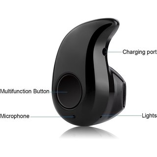 Sketchfab Wireless Bluetooth In-Ear V4.0 Stealth Headset S530, Universal For All Smartphones