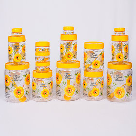 Print Magic Container Yellow  Pack of 15 2000 ml 3 pcs 1000 ml 3 pcs 700 ml 3pcs  150 ml 3 pcs 50 ml 3 pcs