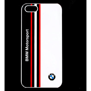 BMW Hard Case iPhone 5/5S Motorsport Shiny Finish White - By Flipper
