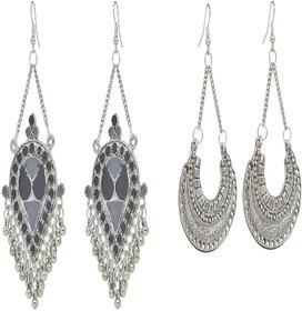 Krivi's Zone Oxidised Earrings