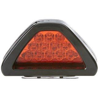 AutoRight 2-in-1 LED Brake Strobe Rectangle Tail Light for Car