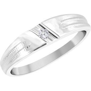 Vidhi Jewels Rhodium Plated Alloy  Brass Attractive Finger Ring for Women  Girls VFR243R