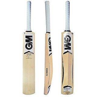 GM Icon F2 Striker Cricket Bat Kashmir Willow Size 4