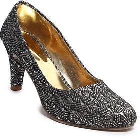 Amour World Women's Black Kitten Heel - 134861407