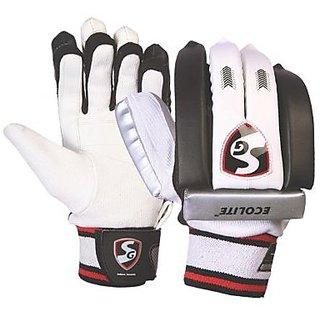 42fe25a6ba0 Buy SG Ecolite Cricket batting Gloves Youth Left Hand Online ...
