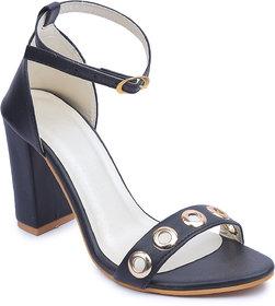 Amour World Women Black Block Heel - 134863762