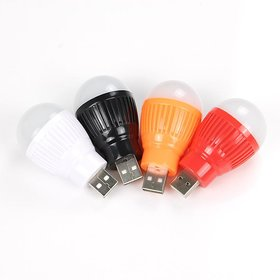 Mini USB Bulb Super Bright USB Powered Mini LED Night Light For all USB Ports Multicolor
