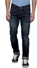X-Cross Men'S Black Comfort Fit Jeans