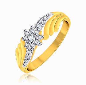 Vidhi Jewels Gold Plated Stylish Alloy  Brass Finger Ring for Women  Girls VFR230G