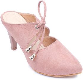 Amour World Women Beige Kitten Heel - 134865621