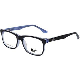 4244bd3ae92 Buy Opticalskart Okfp006c1 Black Blue Wayfarer Eyeglasses Online - Get 68%  Off