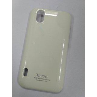BRETAIL Fancy Hard Plastic Back Case Cover For LG OPTIMUS BLACK P970 (WHITE)