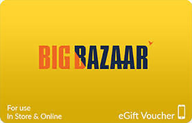 Big Bazaar Digital Gift Card - 1000