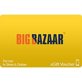 Big Bazaar Gift Card - 1000