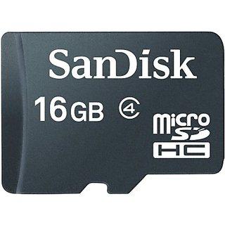 Sandisk 16  GB MicroSD Card  Class 4  MicroSD Cards