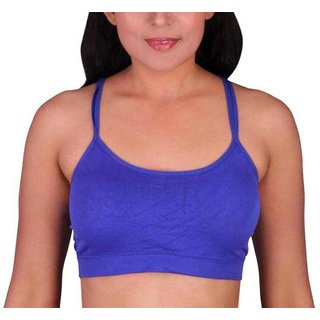 a44d553cc6fa21 Buy Hari Om Creation Presents Blue Color Cotton Lycra   Spandex Bra ...