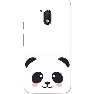 size 40 ff407 bbf92 Moto G4 Play Case, Black Cute Panda White Slim Fit Hard Case Cover/Back  Cover for Motorola Moto G Play 4th Gen/Moto G4 Play