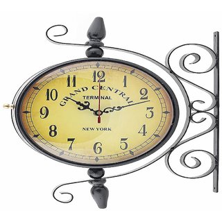 yourchoice grand central antique vintage double sided dual sided wall clock 8 grand central new york