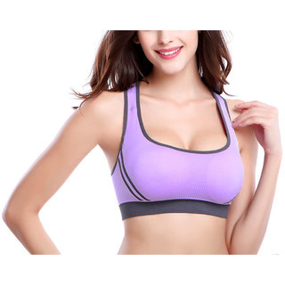 74e8c6d2460035 Buy Hari Om Creation Presents Light Purple Color Cotton Lycra Sports ...