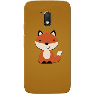 Moto G4 Play Case, Baby Cat Light Brown Slim Fit Hard Case Cover/Back Cover for Motorola Moto G Play 4th Gen/Moto G4 Play
